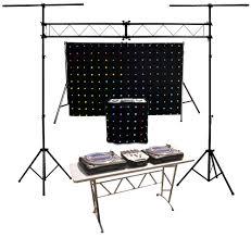 dj lighting truss package chauvet dj motionset led motion drape fa şade backdrop lighting