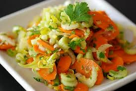 Celery Salad Carrot Celery And Parsley Salad With Lemon And Olive Oil Recipe