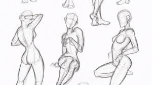 drawing a female figure how to draw a womans and online