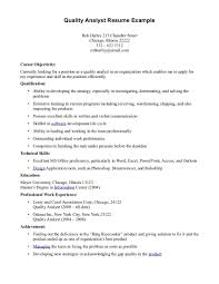 76 quality assurance resume examples resume format quality