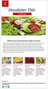 newsletter cuisine restaurant newsletter template newsletter templates