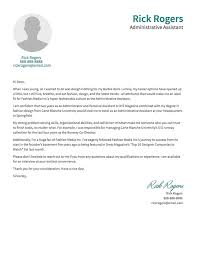 cover letter facts and examples resume com