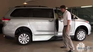 toyota van philippines 2013 toyota sienna mobility wheelchair accessible van by vmi video