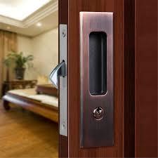 Patio Door Locks Hardware Sliding Barn Door Locking Hardware Inox Lock Ccjh Invisible Locks