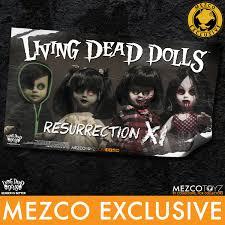living dead dolls resurrection xi banner mezco toyz
