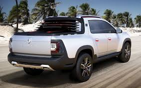 renault duster 2014 white renault duster oroch concept unveiled for sao paulo