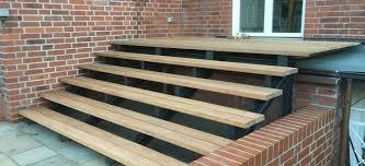 treppen im au enbereich treppen geländer für den außenbereich pielke pielke