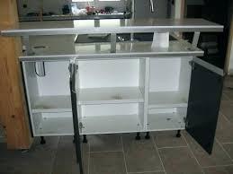 table haute de cuisine avec rangement meuble table bar cuisine avec rangement newsindo co