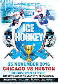 ice hockey party psd flyer template by styleflyers com this ice