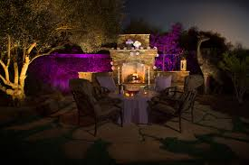 Colored Landscape Lighting Take Of Your Landscape Lighting Personal Touch