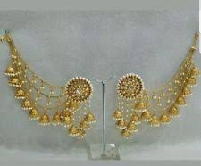 punjabi jhumka earrings jhumka earring in vintage antique jewellery ebay