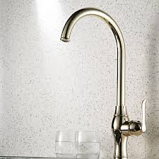 gold kitchen faucet antique style ti pvd finish centerset brass gold kitchen faucet