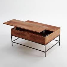 west elm industrial storage coffee table rustic storage coffee table small raw mango coma frique studio
