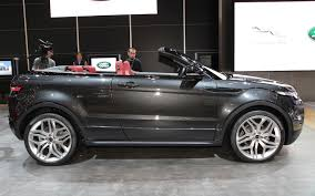 mercedes land rover matte black 2016 range rover evoque convertible cabriolet comes with a