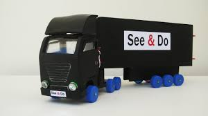 new awesome truck container crafts at home see u0026 do trucks