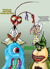 monsters aliens dreamworks artists deviantart