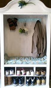 cabinet for shoes and coats 15 creative ways to repurpose an old antique armoire
