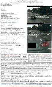 traffic light camera ticket provincial offences act poa tickets including red light camera