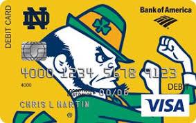 Bank Of America Design Cards Mynotredame Notre Dame Credit Cards