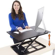 Standing Sitting Desk by X Elite One Level Series Sit Stand Desks Stand Steady