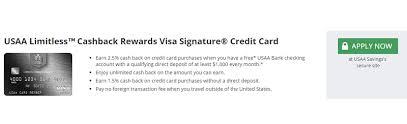get 5 cashback on purchase usaa limitless cashback rewards visa signature card review 2 5