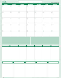 Calendar Wall Organizer System Note 30 Day 7 5 Column Task Manager 19