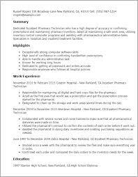 pharmacy technician resume template sle resume pharmacy technician tomyumtumweb