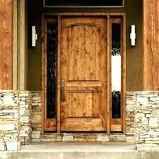 Wood Exterior Door Solid Wood Front Door Solid Wood Door With Glass Panel