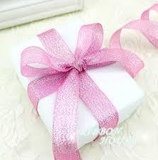 glitter ribbon wholesale 25 yards roll 3 4 20mm pink metallic glitter ribbon colorful