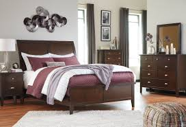 Ashley Zayley Bedroom Set Evanburg Brown Cal King Sleigh Bed From Ashley Coleman Furniture
