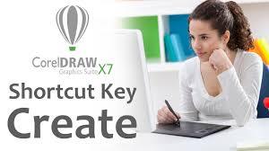 how to creat shortcut key in coreldraw x7 in hindi speech youtube