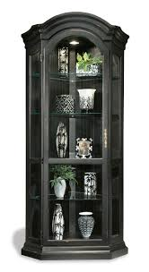 curio cabinet console curio display cabinet magnificent photos