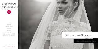 le site du mariage création de site de mariage