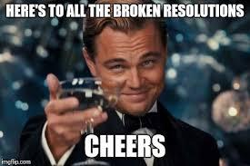 New Years Resolution Meme - new year resolutions imgflip