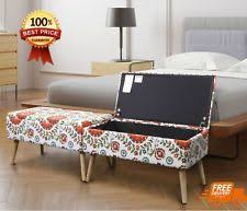 upholstered ottoman ebay