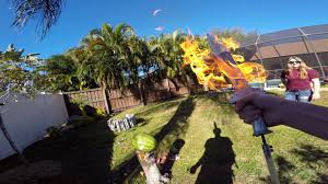 Backyard Pictures by Gopro Making A Flame Sword With The Backyard Scientist Youtube