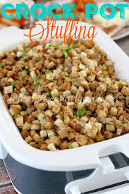 crock pot stuffing the country cook