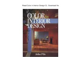 Pile Color In Interior Design Cl Download