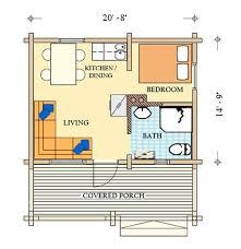 Cabin Floorplan Small House Plans Colorado Homes Zone