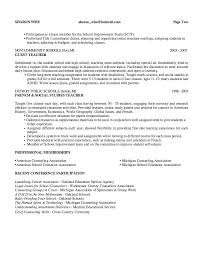 counselor resume objective resume example for a guidance