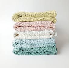 knitted baby blanket linen baby blanket baby bedding