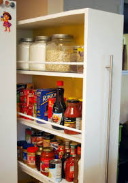 Single Door Pantry Cabinet Best White Kitchen Pantry Cabinet Ideas All Home Design Ideas