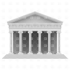 porch clipart parthenon ancient greek temple with columns vector clipart image