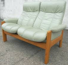 Stressless Chair Prices Sold High Leather Reclining Sofa Settee Ekornes Stressless