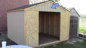 Plans To Build A Wooden Storage Shed by Building A Pre Cut Wood Shed What To Expect Home Depot U0027s