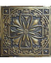 Tin Ceiling Panels by Ancient Gold Tin Ceiling Tiles 3d Cafe Nighclub Ceiling Panels
