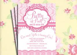 diy printable vintage pretty in pink birthday party