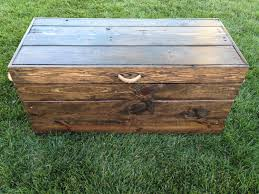 Diy Large Wooden Toy Box by Custom Toy Box Large Stained Custom Toy Box Stained Childrens