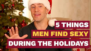 Sexy Christmas Meme - 5 things men find sexy during the holidays dating advice for