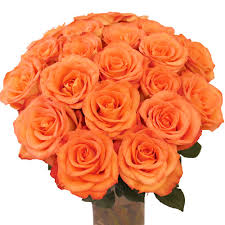 orange roses 30 orange roses bouquetsflower with